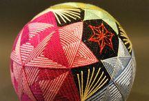 Temari Crazy / Temari and Kimekomi balls for inspiration / by Jenni Davis