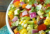Summer Salads / Healthy, crunchy, delicious salad recipes for summertime meals. / by LCC Library