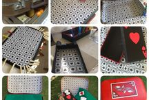 Maletas / Convertir una maleta viaja en una maleta de juegos