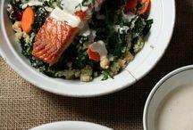 Salmon Grain Bowl/Salad