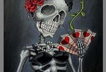 B0nEs / skull & skeletons / by Melissa Torres