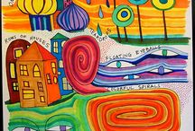 Hundertwasser lesson plans NCC