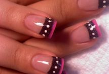 Loves - French Twist / A few traditional French Manicures with a twist that NailCandi loves.