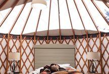Yurt living / Yurts / by Jeannine Sharp-Lee