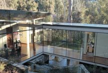 glass house / Architecture, light, glass, nature