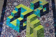 3 D patchwork projekter