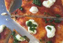 Pizzas y focaccias