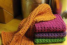 Karklude og håndklæder - strik
