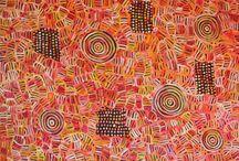 Betty Mbitjana  - Aboriginal Art / Betty Mbitjana  Aboriginal Art For Sale