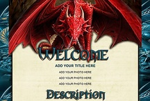 Dragon and Magic Auction Template / Take your listings to the Majestic level with these beautifully crafted Dragon and other Magical Auction Templates.