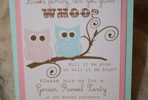 Gender Reveal Party / by Kristy Speigner
