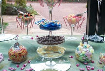 Can't Resist Candies!!! / Who can possibly say 'No thanks' to Sweets & Candies?  Our little sister company www.facebook.com/SugarRushUK does the most fabulous Candy Buffets - thought we'd show you a couple of pics.  Hope you like them!