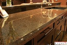 kitchen countertops / kitchen is the best part of the home, everyone is the enjoy the preparation of the food. we need to care of the countertops in kitchen from the scratches and stains.