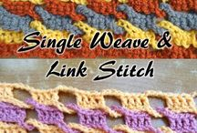 Techniques / crochet and knitting techniques and useful tips