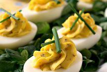 eggs ... deviled etc