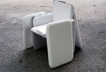 BIG for GANDIA BLASCO / Dining armchair made from recyclable rotomoulded polyethylene.  www.gandiablasco.com