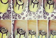 Nail-art DIY's / For DIY's for nail-art designs.