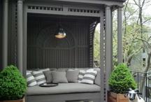 outdoor garden furniture settings