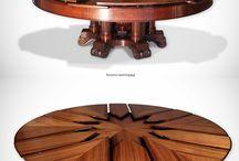 Bővíthető asztal