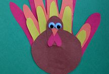 Thanksgiving Crafts / by Melissa Spaulding