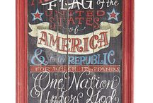 4th of July Decorative Signage