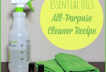 Cleaning Supplies In The Home