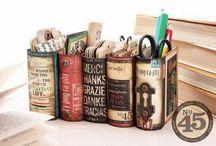 κατασκευές με βιβλια
