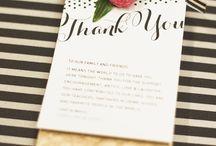Ďakovné kartičky