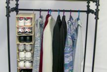 PVC rack clothes