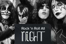 Rock 'n Roll All Night / O ritmo que nos acompanha o tempo inteiro.
