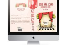 Kitap Kapak Tasarımı / Book Cover 2 / Koyu Kitap