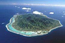 Rarotonga or Fiji