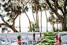 Wedding Ceremony at Bay Prserve in Opsrey sarasota Florida