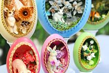 Taking a Crack at Crafts / Crafty DIY ideas using egg-related materials