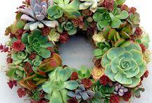 ideias para coroas de flores