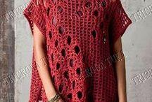 blusa de crocet