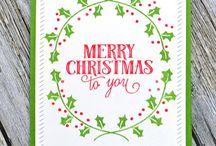 Cards- Avery Elle Christmas