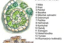 bylinková spirála ( bylinový záhon)
