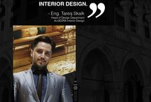 Eng. Tareq Skaik / We set new standards for Luxury, comfort and innovation in residential and commercial interior design.
