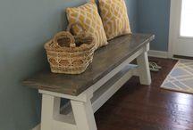 DIY - bench, stool, sofa