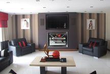 TV Above Fireplace / A lot of fires in our range have the option of allowing a TV to be installed above. Our design works well for TV's above fireplaces because we can shield the TV from the heat of an active fire.  If you are unsure give one of our advisors a call: 01325 301020
