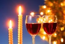 Wine Christmas - Vino y Navidad / Navidades vinícolas. El vino y la Navidad.