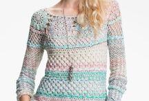 szydełkowe ubrania crochet cloths