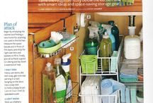 Organize & Revamp / Storage and Updating ideas for the home
