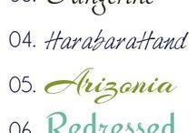 Font ideas