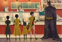 Bat Fam / Basically the batman family and anything to do with its members