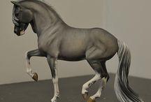 Réplicas inspiradas en caballos