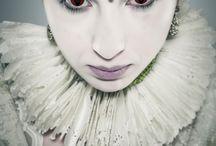 Concept / Stylist: Julie Hibou-W&B Owl Model: Flavia Farewell Vitti MUA: Giulia Ataraxia Lo Iacono PH: Lumina Sense Art Lab