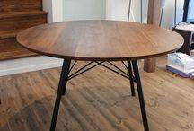 円テーブル