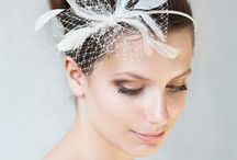 BeChicAccessories bridal hats / Collection of birdal veils and hats, chic bridesmaid headbands and fascinator